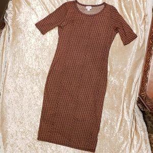 LuLaRoe Julia dress sz S